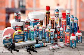 Sprays, Colas, Tintas em spray e Silicone