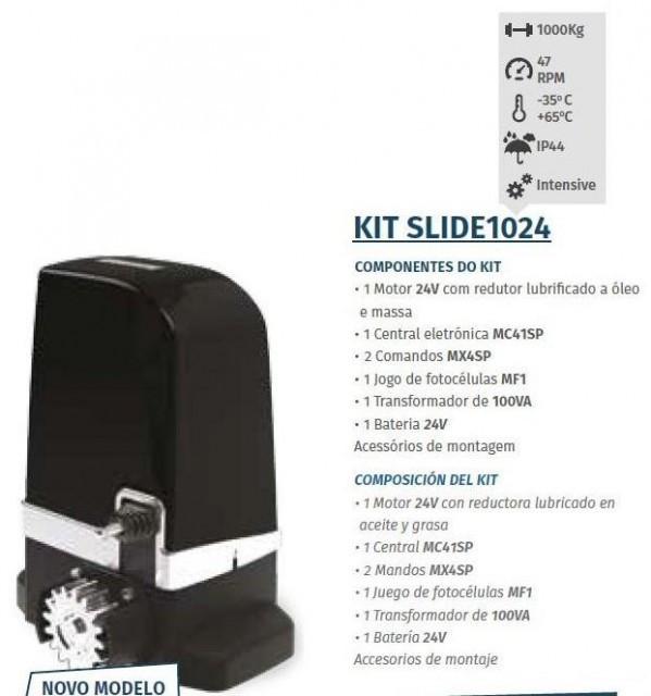 Motorline kit slide1024 automatismos para port es de correr for Automatismos para toldos