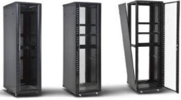 ODSC37U6080 - BASTIDOR DE CHÃO 37U, 600X800X1800 OMNIUM ELECTRIC