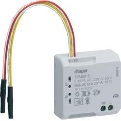 TRM691E - Micro módulo 2E + 1S Var RF 200W HAGER EAN:3250615989048