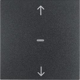 BERKER - 85241185 - S.1/B.3/B.7 - teclas estores, antr mate 25