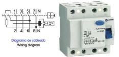 OPR440030AC - INTERRUPTOR DIFERENCIAL 30MA 4P 40A AC OMNIUM ELECTRIC
