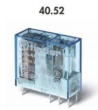 Relé para circuito impresso plug-in 8A