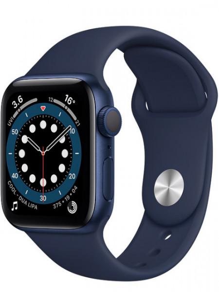 Watch Apple Watch Series 6 GPS 40mm Blue Aluminum Case with Sport Band - Deep Navy EU