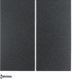 BERKER - 85146185 - S.1/B.x - tecla dupla KNX RF, antr mate 25