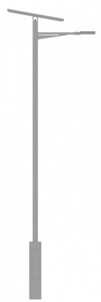 Gazela - Poste de Iluminação Autónomo Fotovoltaico  VALLED