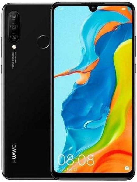 Huawei P30 Lite New Edition Dual Sim 6GB RAM 256GB - Black EU