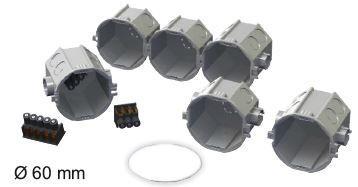 JSL Caixas Instalacao Interior Caixa de aparelhagem simples -