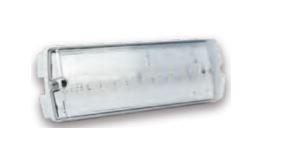 OMNIUM ELECTRIC - AM653WM3EB - LUMINÁRIA DE EMERGÊNCIA IP65 3W LED, PERMANENTE, 3HRS. 120-277V, 50-60HZ