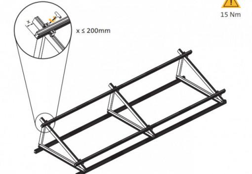 VS+ FIJADOR PERPENDICULAR para triangulo