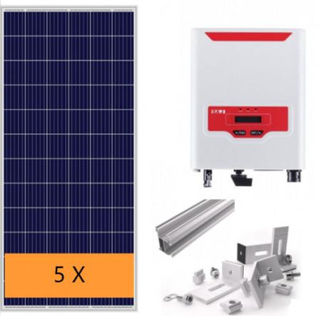 Kit Autoconsumo fotovoltaico 1600W C/ inversor SAJ