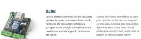 MOTORLINE MC102 MOTORES DE CORRER (ACESSÓRIOS)
