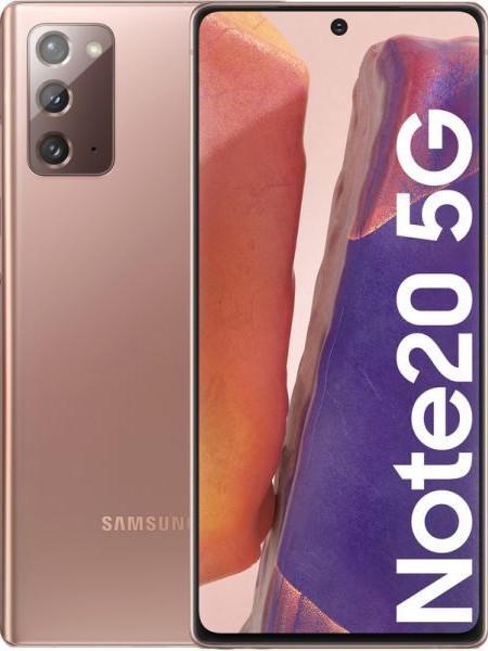 Samsung Galaxy Note 20 N981B 5G Dual Sim 256GB - Bronze EU