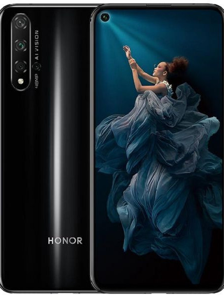 Huawei Honor 20 Dual Sim 128GB - Black EU