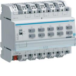 TXA310 - Módulo 10 entradas binárias 230V KNX HAGER EAN:3250616049253