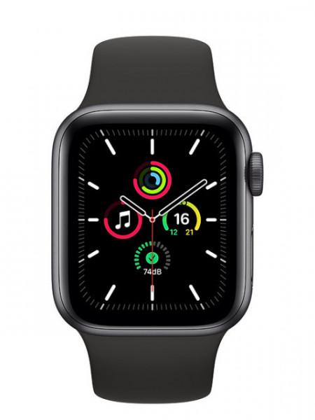 Watch Apple Watch SE GPS 40mm Grey Aluminum Case with Sport Band - Black EU
