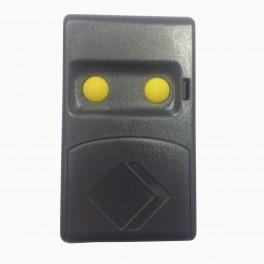 Comando para Portão CM2 2 botões c/ DIP switch AZUL ou AMARELO AUTOMAT EASY