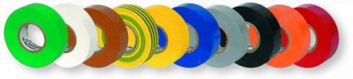 Fita Isoladora Varias cores 0,15mmx19mm x 20 metros