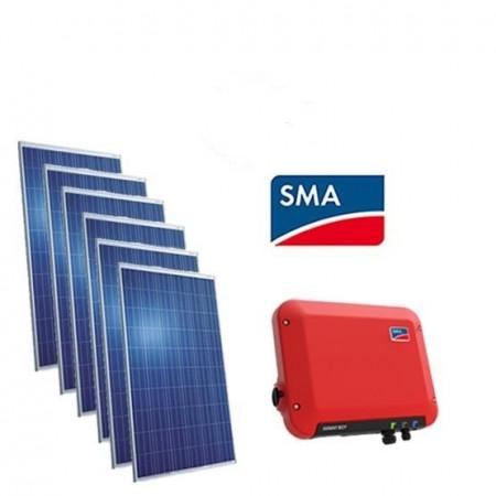 Kit Autoconsumo fotovoltaico 1500W C/ inversor SMA