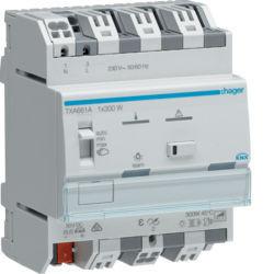 TXA661A - Variador 1 canal 300W KNX HAGER EAN:3250616048720
