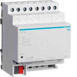 TYF784 - Módulo 4 entradas analógicas HAGER EAN:3250616059986