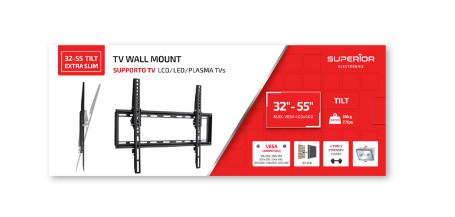 32-55 TILT EXTRA SLIM -SUPORTE TV – Superior