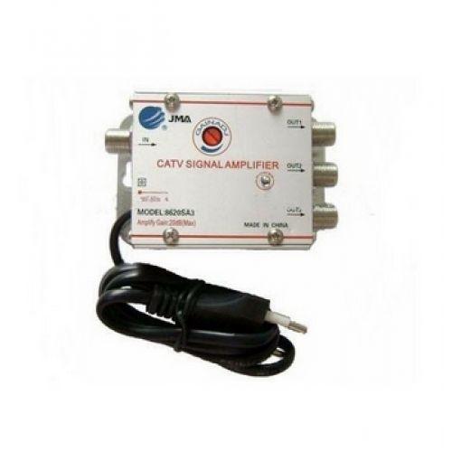 8620SA3 - Amplificador de sinal com CATV 3 saidas