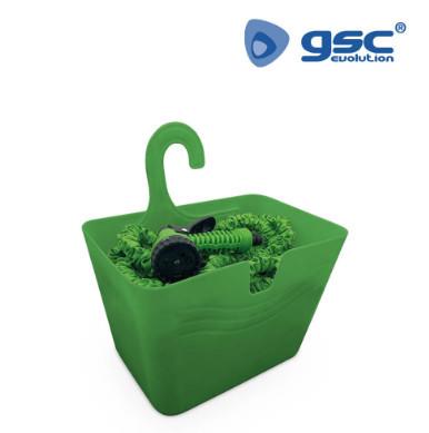 403010000 - Kit de mangueira flexível tipo cobra 10M - 30M + cesta com gancho