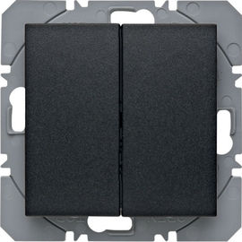 BERKER - 85656285 - S.1/B.3/B.7 - BP duplo KNX RF, antr mate 25
