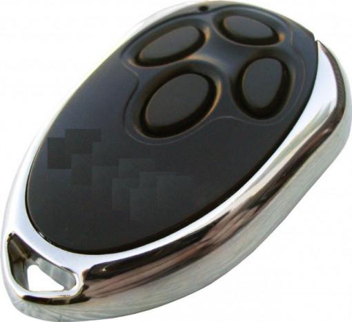Comando Rolling code 433Mhz metálico com 4 botões CM40N AUTOMAT EASY