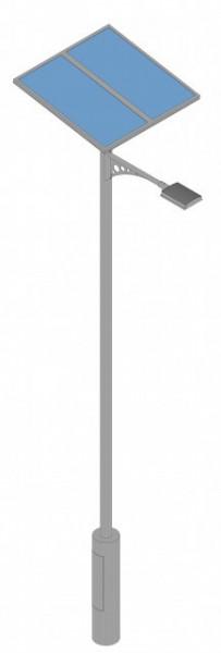 Girafa - Poste de Iluminação Autónomo Fotovoltaico  VALLED