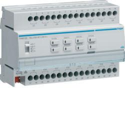 TXM616D - Actuador bin./est. 16 canais 16A Cap KNX HAGER EAN:3250616048799