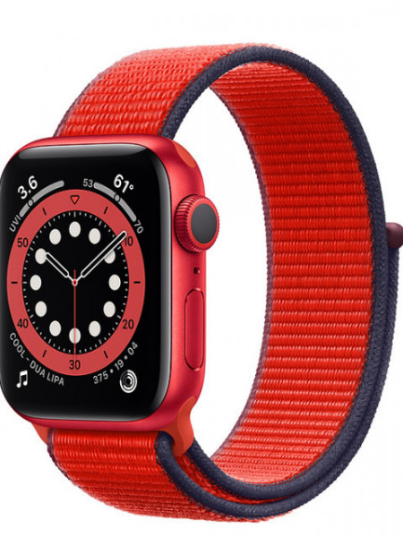 Watch Apple Watch Series 6 GPS 40mm Red Aluminum Case with Sport Band - Red EU