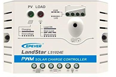 LS1024E Regulador de Carga PWM 10A 12/24V EP SOLAR