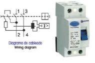 OPR225030AC - INTERRUPTOR DIFERENCIAL 30MA 2 POLOS 25A AC OMNIUM ELECTRIC