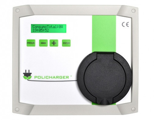 Policharger IN-SC3F Wallbox sem fio 3P 22kW Base T2