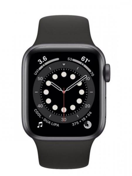 Watch Apple Watch Series 6 GPS 40mm Grey Aluminum Case with Sport Band - Black EU