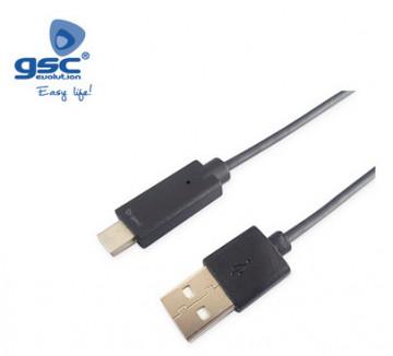 001402969 - Cabo USB macho para USB tipo C macho 3.0 - 1.5M 8433373029699