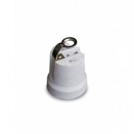 002200730 - 8436021947307 Porta Lâmpadas cerâmico reforçado E27 Branco