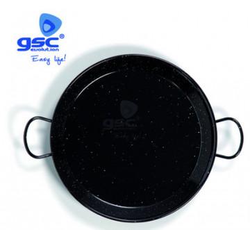002701798 - Panela de paella de aço esmaltado Ø300mm 4 porções 8411470001039