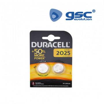 009000160 - Bateria de lítio Duracell DL2025 Blister 2 5000394203900