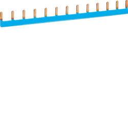 01 - KB163N - 3250613720025 Pente de lig. 1P 63A (azul) 13M HAGER