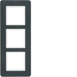 10136186 - Q.7 - quadro x3, antracite BERKER EAN:4011334481133