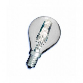2000149 - 8436039201491 Esfera de halogéneo Clear Sphere Saving 42W (60W) E14