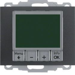 20447106 - K.1/K.5 - termóst. programável, antrc mt BERKER EAN:4011334354758