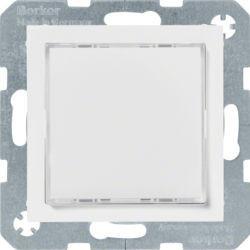 29528989 - S.1/B.x - Sinaliz. LED verde/enc, branco BERKER EAN:4011334414346