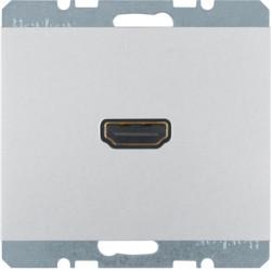 3315437003 - K.1/K.5 - tomada HDMI ficha 90º, alu lac BERKER EAN:4011334378372