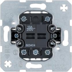 503404 - Bot. duplo c/pos. interm., 4NA, 10A 250V BERKER EAN:4011334255994