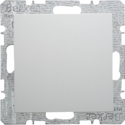 6710098989 - S.1/B.x - espelho cego, branco BERKER EAN:4011334285007