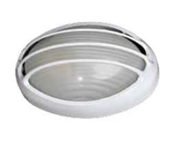 700455 - 8436021944559 E27 60W Luminária de grade de alumínio cego.